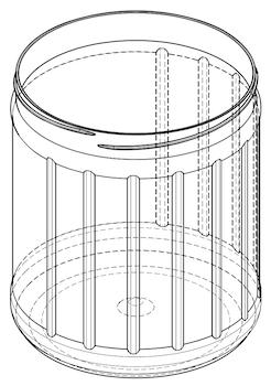 Jar Dolphin 3000 ml