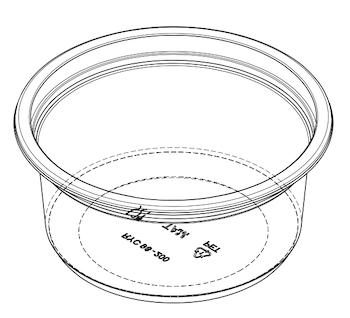 Yogurt Cup (RYC) D98-45
