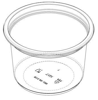 Yogurt Cup (RYC) D98-65